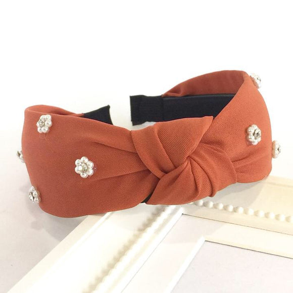 Rust Turban Headband