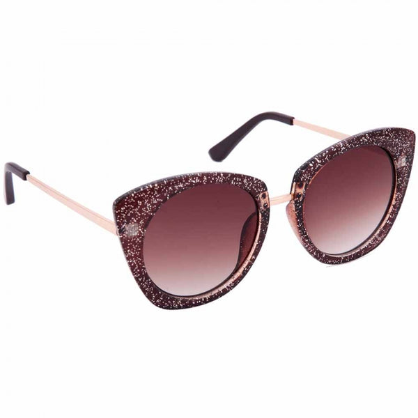 Julietta Oversized Glitter Sunglasses
