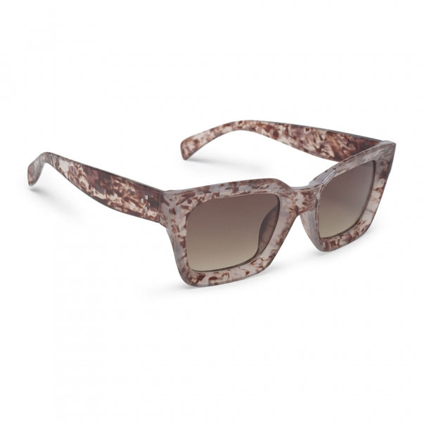 Rosie Rectangle Granite Sunglasses