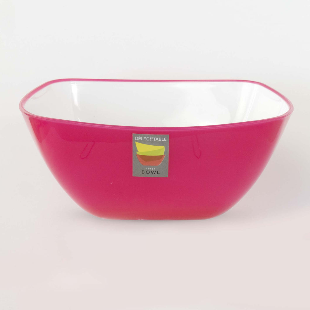 Bowl (Tigela) Quadrado Rosa