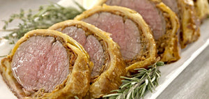 Isabelle's Christmas recipe of the month: Old Vine Shiraz & Beef Wellington