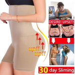 High Waist Shaping Underwear pant Lady Seamless Breathable Fat Burning Body Shapers A - Metfine