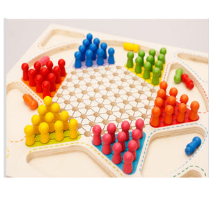 Wooden Chess Sets Game Flight Chess - Metfine