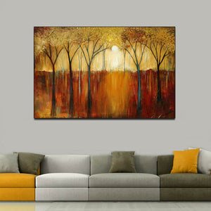 abstract art | canvas painting | canvas wall art | wall decor stickers - Metfine
