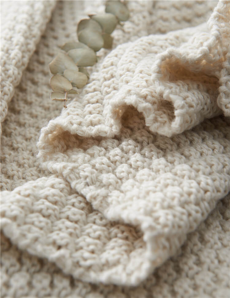 Sofa Throws | Knitted Blanket - Metfine