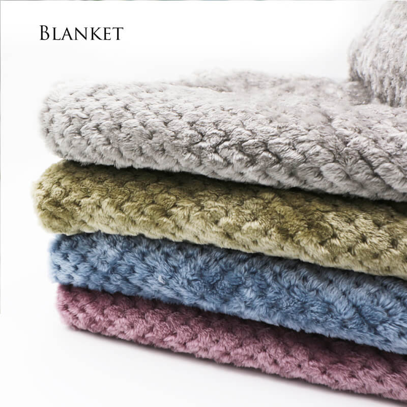 Plush Throw Blanket | Mesh Soft Flannel Blanket - Metfine