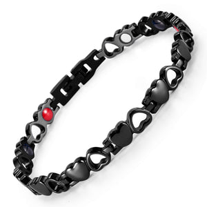 Heart Shape Magnetic Therapy Bracelet - Metfine