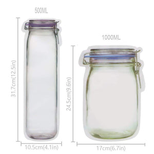 Reusable jar bags - Metfine