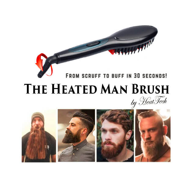 Heated Man Brush