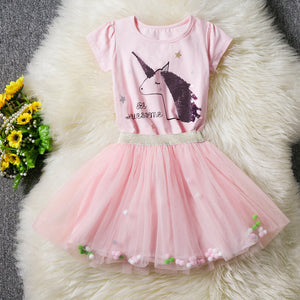 Unicorn pink Dress - Metfine
