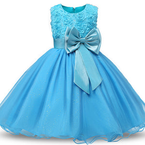 Children's Butterfly Princess Evening Dress - Metfine