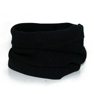 Neck warmer unisex polar fleece snood windproof multi-purpose - Metfine