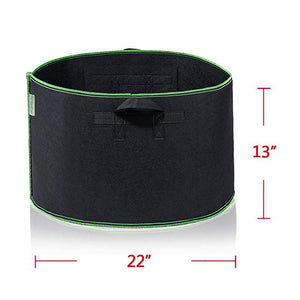 Grow Bags Aeration Fabric Pots Container - Metfine