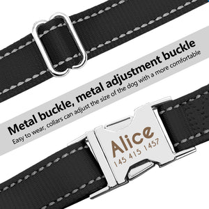 Personalized Plain Dog Collar - Metfine