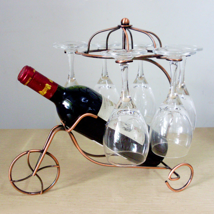 Decoration wine rack cup holder - Metfine