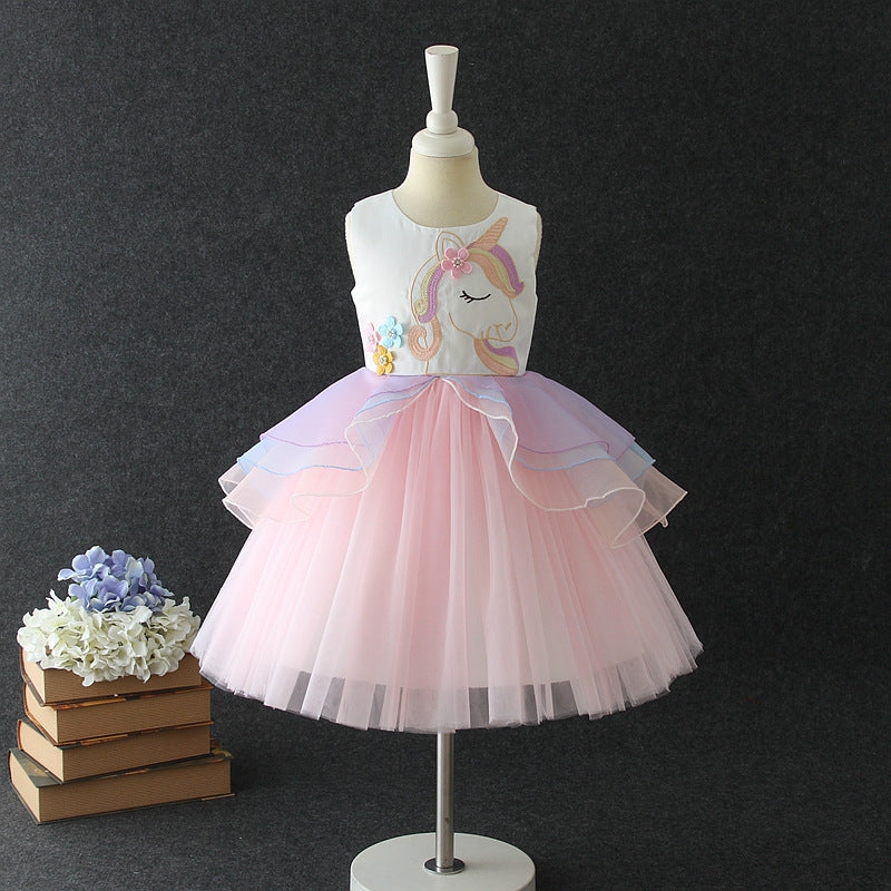 LIMITED EDITION Horse Unicorn Princess Dress - Metfine