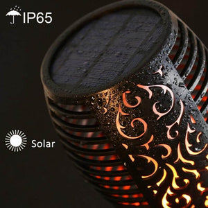 96 LED Solar Torch Light Decoration Garden Lawn Light - Metfine