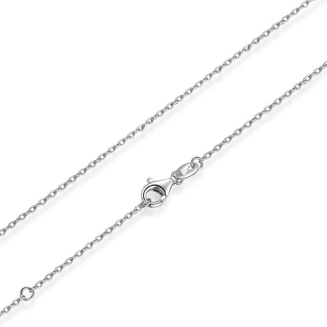 Silver Lobster Clasp Adjustable Necklace Chain Jewelry - Metfine