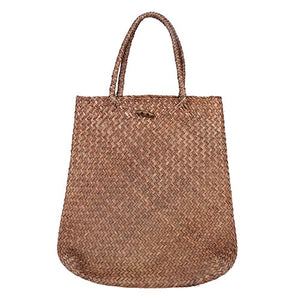 Wicker Handmade Knitting Handbags - Metfine