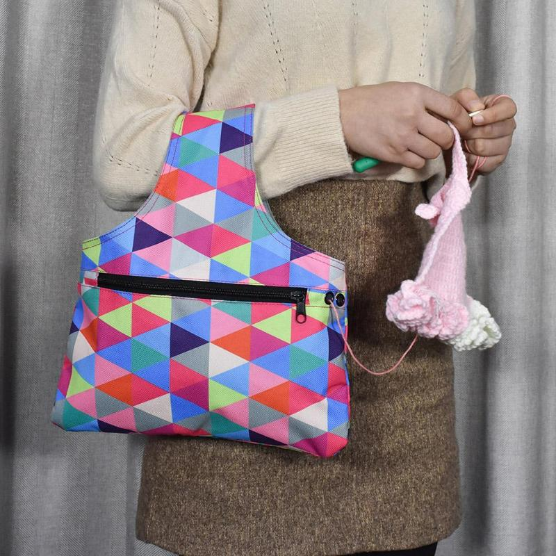 Portable knitting needle storage bag - Metfine