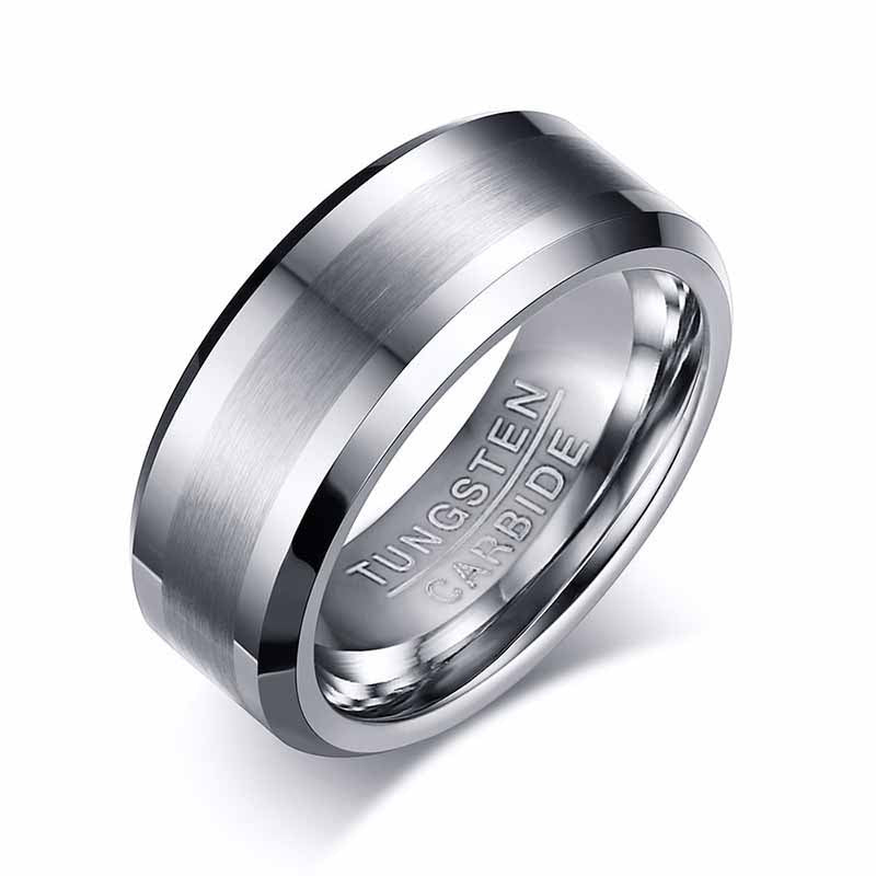 tungsten carbide ring for men | tungsten carbide ring | mens wedding ring tungsten - Metfine