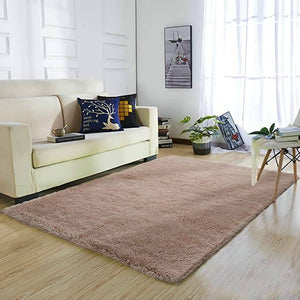Fluffy Shaggy Super soft Carpet | Fluffy Area Rugs - Metfine