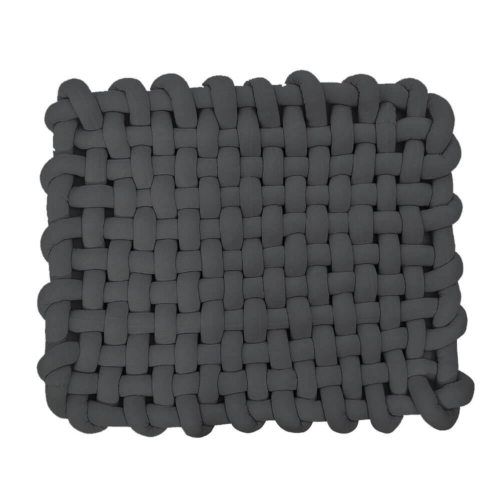 Chunky Knotted Braided Mat - Metfine
