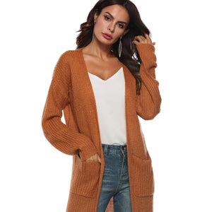 Long Cardigan Sweater - Metfine