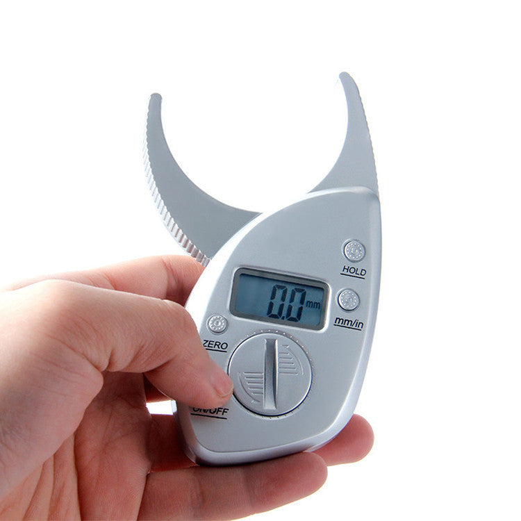 Body Fat Caliper Tester Scales Fitness Monitors Analyzer Digital Skinfold - Metfine