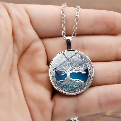 Necklace Celtic Tree of Life gifts - Metfine
