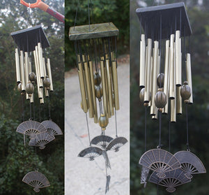 Wind chimes Home Decoration | wooden wind chimes | copper