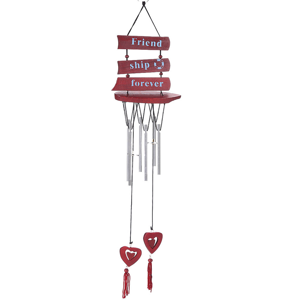 48cm 6 Tubes Wind Chimes Bells Carillon Copper Windchime Wall Hanging Yard Chapel Bells - Metfine