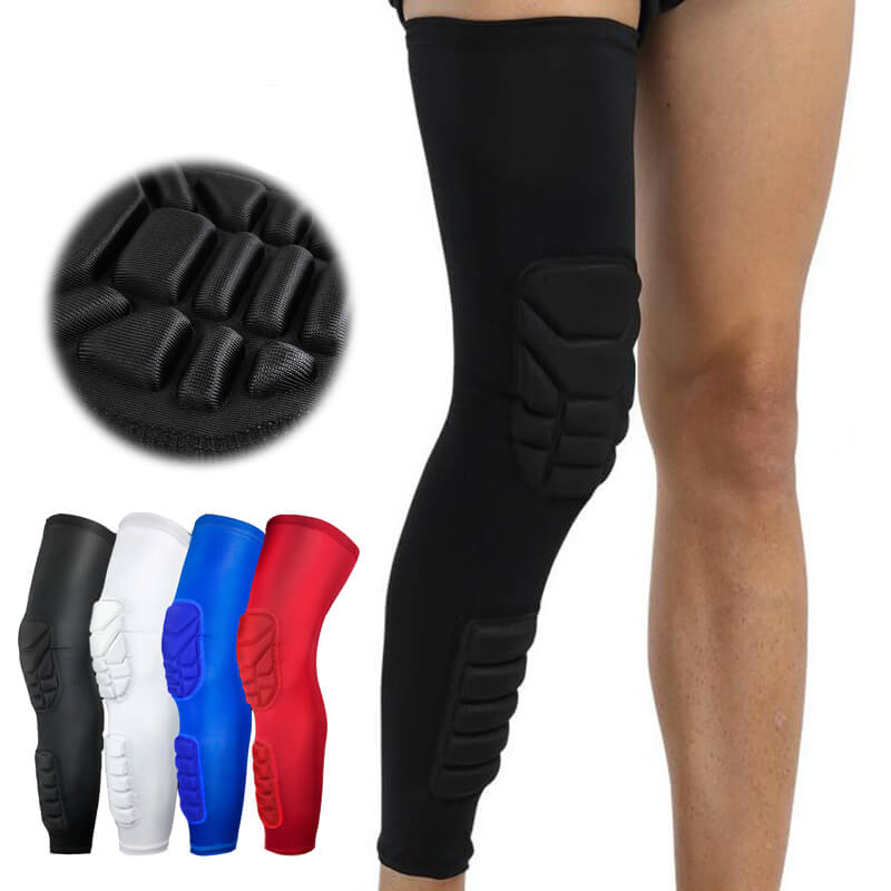 Knee compression padded
