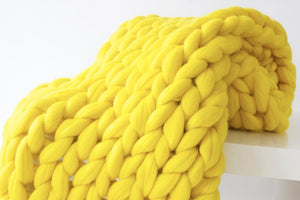 Big knit blanket - Metfine