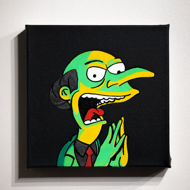 Mr. Burns by Koz