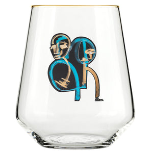 "That ""Love One Another"" Glass"