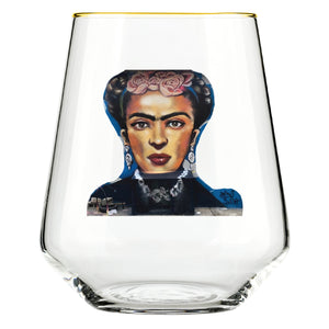 That Frida Kahlo Glass