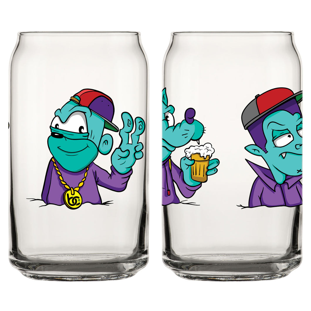 That Belowkey Collab Glass
