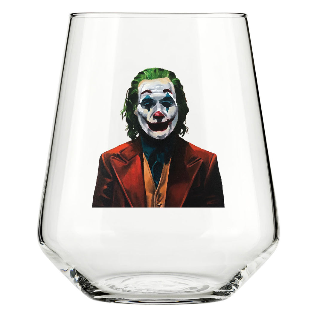 That Joaquin Joker Glass