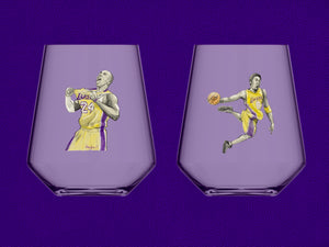 That Kobe '20 Tribute Glass (HopGlom-O Collab)