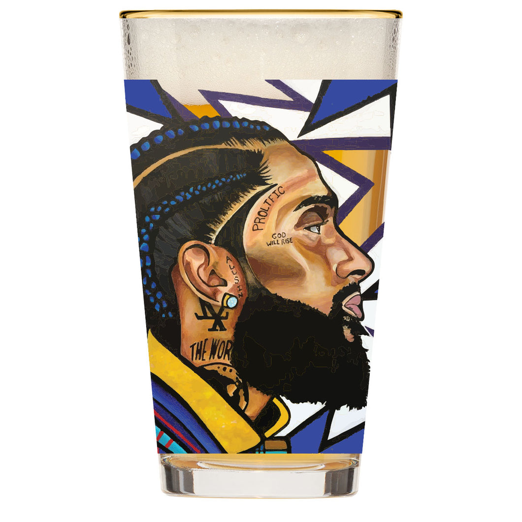 That Nipsey Hussle Glass