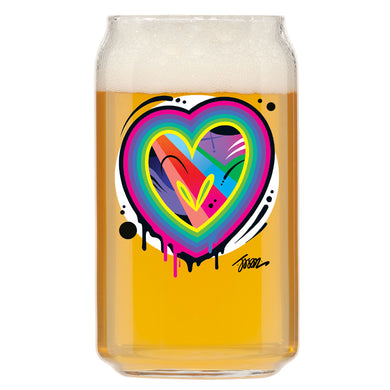 That OPN HEART 005 Glass