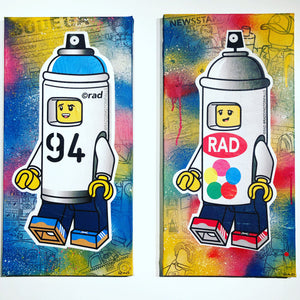 """Spray Paint Can Costumes: Krylon"" by Raddington Falls"