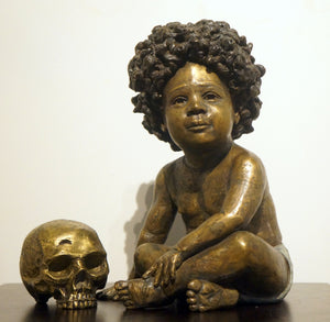 """Ready to Play"" Sculpture by Amar Stewart"