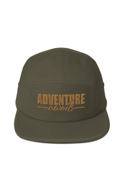 casquette_adventure_awaits_logo_brode_kaki