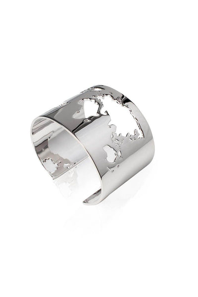 cuff_bracelet_world_map_monde_argent