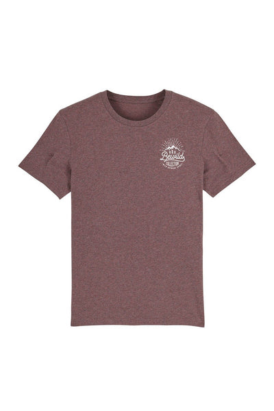 t_shirt_homme_coton_biologique_bewild_collection_outdoor_spirit_bordeaux_chine_noir