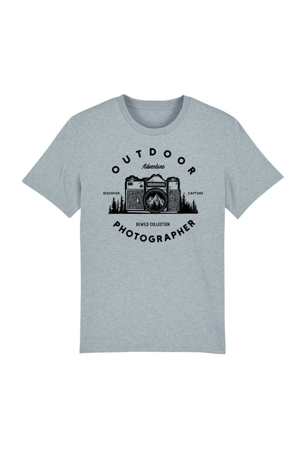 t_shirt_homme_coton_biologique_outdoor_photographer_bleu_gris