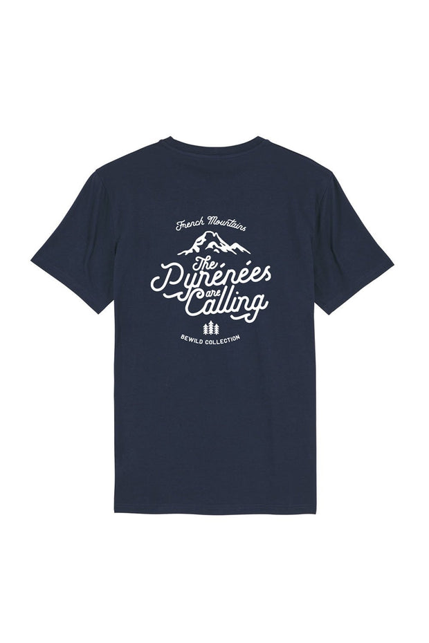t_shirt_homme_coton_biologique_pyrenees_are_calling_navy_dos