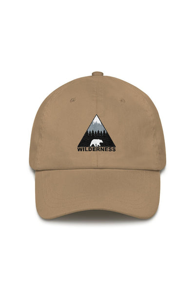 casquette_marron_logo_brode_wilderness_ours_classic